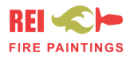 REI Fire Paintings logo